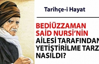 BEDİÜZZAMAN SAİD NURSİ'NİN AİLESİ TARAFINDAN...