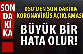DSÖ Başkanı'ndan canlı yayında son dakika...