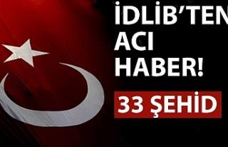 Hatay Valisi Doğan: İdlib'de hava saldırısında...