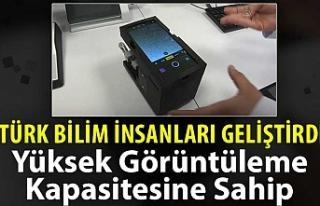 Türk bilim insanları görüntü kalitesi yüksek...