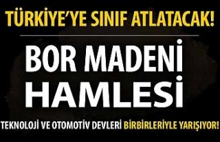 Türkiye'den lityum hamlesi!