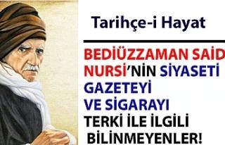 BEDİÜZZAMAN SAİD NURSİ'NİN SİYASETİ GAZETEYİ...