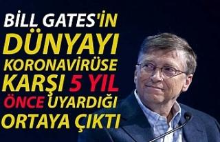 Bill Gates'in dünyayı koronavirüse karşı...
