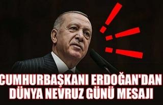 Cumhurbaşkanı Erdoğan'dan Dünya Nevruz Günü...