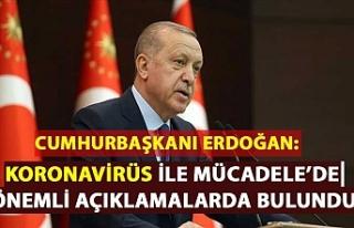 Cumhurbaşkanı Erdoğan: Kovid 19 ile mücadelemizi...