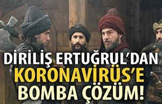 Diriliş Ertuğrul'dan 'Koronavirüs'e...