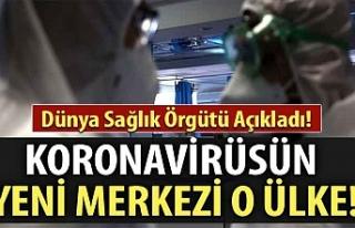 Dünya Sağlık Örgütü açıkladı: Koronavirüs...