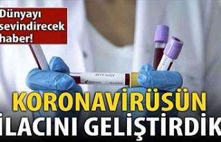 Dünyayı sevindirecek koronavirüs açıklaması:...