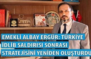Emekli Albay Ergür: Türkiye İdlib saldırısı...