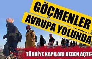 Göçmenler Avrupa yolunda: Türkiye kapıları neden...