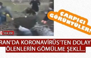 İRAN'DA KORONAVİRÜS'TEN DOLAYI ÖLENLERİN...