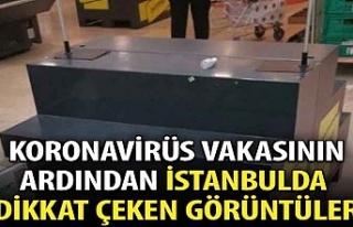 İstanbullular marketlere akın etti