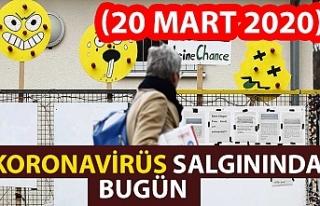 Koronavirüs salgınında bugün (20 Mart 2020)