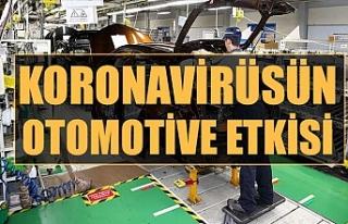 Koronavirüsün otomotive etkisi