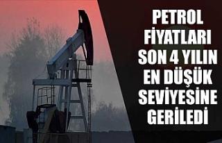 Petrol fiyatları son 4 yılın en düşük seviyesine...
