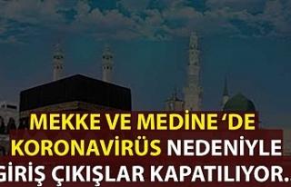 Riyad, Mekke ve Medine'de koronavirüs nedeniyle...