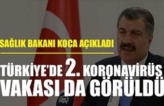 Sağlık Bakanı Koca: Koronavirüs tanısı konan...