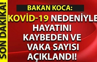 Sağlık Bakanlığı: Kovid-19 nedeniyle 23 kişi...