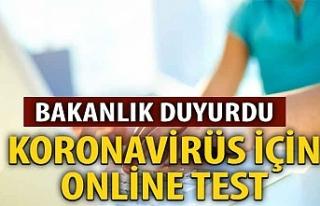 Sağlık Bakanlığı'ndan online koronavirüs...