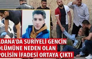 Adana'da Suriyeli gencin ölümüne neden olan...