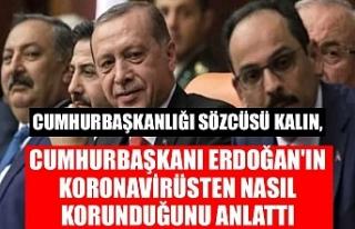 Cumhurbaşkanlığı Sözcüsü Kalın, Cumhurbaşkanı...