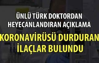 Dünyaca ünlü Türk doktordan heyecanlandıran açıklama
