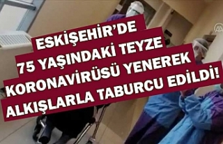 Eskişehir'de 75 yaşındaki kadın koronavirüsü...