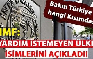 IMF: Türkiye ve Rusya yardım isteyen ülkeler arasında...