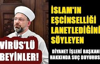 İslam'ın eşcinselliği lanetlediğini söyleyen...
