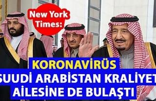 New York Times: Koronavirüs Suudi Arabistan Kraliyet...