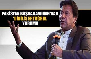 Pakistan Başbakanı Han'dan 'Diriliş Ertuğrul'...