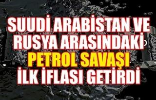 Suudi Arabistan ve Rusya arasındaki petrol savaşı...
