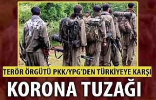 Terör örgütü PKK/YPG'dan alçak koronavirüs...