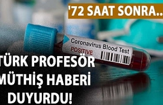 Türk profesör müthiş haberi duyurdu! '72...