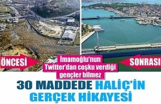 Bakan Yardımcısı Birpınar, Haliç gerçeğini...