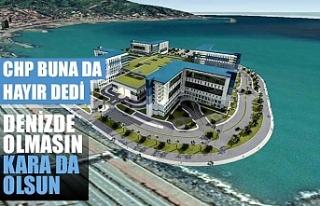 CHP Rize'deki şehir hastanesinin projesine karşı...