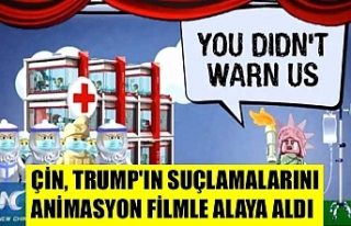 Çin, Trump'ın suçlamalarını animasyon filmle...