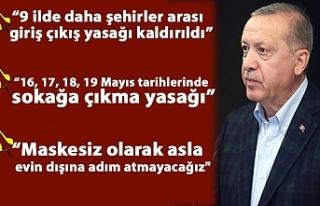 Cumhurbaşkanı Erdoğan: Normalleşme adımları...