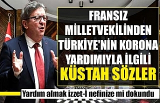 Fransız milletvekilinden Türkiye'nin korona...
