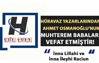 Hüravaz yazarlarından Ahmet Osmanoğlu'nun...