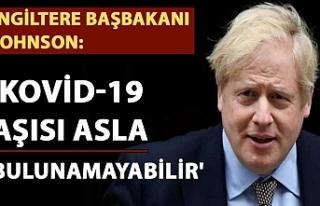 İngiltere Başbakanı Johnson: 'Kovid-19 aşısı...