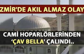 İzmir'de akıl almaz olay! Cami hoparlörlerinden...