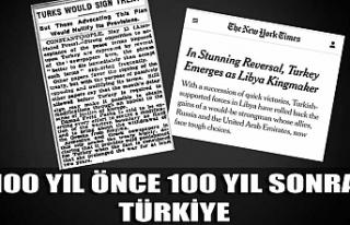 NY Times'ın 100 yıl önce ve 100 yıl sonra...