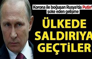 Putin'i şoka uğratan gelişme!
