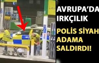 Siyahi adam polisler tarafından ırkçı saldırıya...