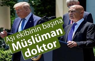 Trump, aşı ekibinin başına Müslüman doktoru...