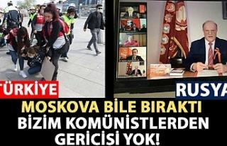 Türkiye'de 1 Mayıs'ı sokaklarda kutlama...