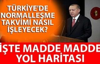 Türkiye'de normalleşme takvimi nasıl işleyecek?...