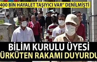 'Türkiye'de 400 bin hayalet taşıyıcı var'...