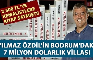 Yılmaz Özdil'in Bodrum'daki 7 milyon dolarlık...